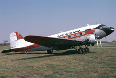 Aircraft Photo of N8QE | Douglas DC-3-313B | Air Indiana | AirHistory.net
