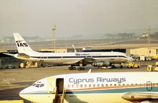 Aircraft Photo of G-BDDE | Douglas DC-8-54CF Jet Trader | IAS Cargo Airlines - International Aviation Services | AirHistory.net #63970