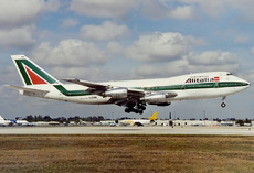Aircraft Photo of I-DEMN | Boeing 747-243B | Alitalia | AirHistory.net
