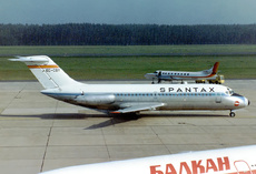 Aircraft Photo of EC-CGY | Douglas DC-9-14 | Spantax | AirHistory.net #92956