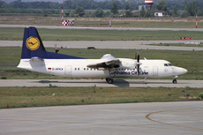 Aircraft Photo of D-AFKX | Fokker 50 | Lufthansa CityLine | AirHistory.net #344811