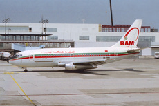 Aircraft Photo of CN-RMN | Boeing 737-2B6C/Adv | Royal Air Maroc - RAM | AirHistory.net