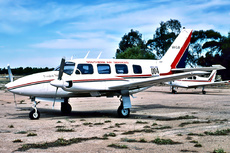 Aircraft Photo of VH-CJB | Piper PA-31-310 Navajo | Southern Air Services - SAS | AirHistory.net #51061