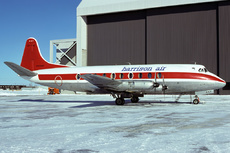 Aircraft Photo of CF-TIC | Vickers 757 Viscount | Harrison Airways | AirHistory.net