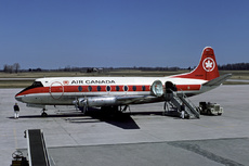 Aircraft Photo of CF-THM | Vickers 757 Viscount | Air Canada | AirHistory.net #354458