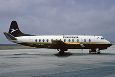 Aircraft Photo of G-BLNB | Vickers 802 Viscount | Tunisavia | AirHistory.net #29749
