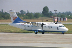 Aircraft Photo of 9A-CTS | ATR ATR-42-300QC | Croatia Airlines | AirHistory.net #97186