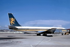 Aircraft Photo of G-AWTK | Boeing 707-349C | Caledonian Airways | AirHistory.net #40763