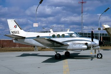Aircraft Photo of N5112 | Beech A90 King Air | General Motors Air Transport | AirHistory.net #41175