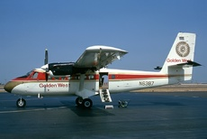 Aircraft Photo of N6387 | De Havilland Canada DHC-6-100 Twin Otter | Golden West Airlines | AirHistory.net