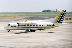 Aircraft Photo of F-GHME | ATR ATR-42-300 | Brit Air | AirHistory.net