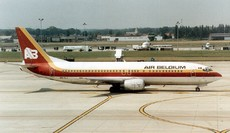 Aircraft photo of OO-ILJ - Boeing 737-46B - Air Belgium, taken on 10 July 1995 by Alastair T. Gardiner.