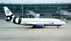 Aircraft photo of G-IGOC - Boeing 737-3Y0 - Go Fly, taken on 20 October 1999 by Alastair T. Gardiner.