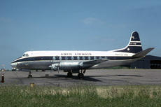 Aircraft Photo of VR-AAW | Vickers 760D Viscount | Aden Airways | AirHistory.net #57962