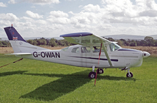 Aircraft Photo of G-OWAN | Cessna 210D Centurion | AirHistory.net #64320