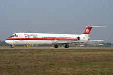 Aircraft Photo of EI-CRE | McDonnell Douglas MD-83 (DC-9-83) | Meridiana | AirHistory.net