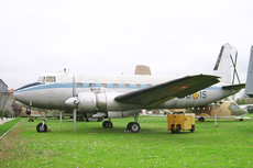 Aircraft photo of T.7-6 / 405-15 - CASA C-207A Azor, taken by R.A.Scholefield at Cuatro Vientos / Museo del Aire [ Off-Airport ] in Spain on 7 November 2006 at the Museo del Aire. Twenty-two Bristol Hercules-powered Azor transports were built for the Spanish Air Force, entering service in 1960.
