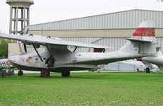 Aircraft photo of EC-693 / DR.1 / 74-21 - Consolidated PBY-5A Catalina, taken by R.A.Scholefield at Cuatro Vientos / Museo del Aire [ Off-Airport ] in Spain on 7 November 2006 at the Museo del Aire. Built for US Navy as Bu46596. Later N6070C, N45998, CF-FFW, EC-314 and EC-693. Displayed at Cuatro Vientos wearing false markings 'DR.1' and '74-21'.