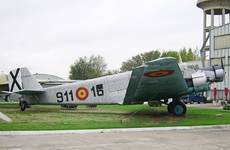 Aircraft photo of T2B-211 / 911-16 - CASA 352L, taken by R.A.Scholefield at Cuatro Vientos / Museo del Aire [ Off-Airport ] in Spain on 7 November 2006 at the Museo del Aire. Post-war Spanish-built version of the Junkers Ju 52/3m