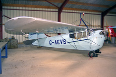 Aircraft Photo of G-AEVS | Aeronca 100 | AirHistory.net #89277