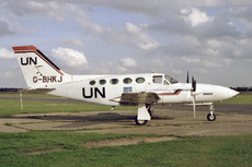Aircraft Photo of G-BHKJ | Cessna 421C | United Nations | AirHistory.net