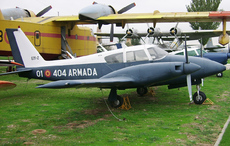 Aircraft photo of E31-2 / 01-404 - Piper PA-30-160 Twin Comanche - Spain - Navy, taken by R.A.Scholefield at Cuatro Vientos / Museo del Aire [ Off-Airport ] in Spain on 7 November 2006 at the Museo del Aire.