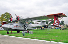 Aircraft photo of EC-693 / DR.1 / 74-21 - Consolidated PBY-5A Catalina, taken by R.A.Scholefield at Cuatro Vientos / Museo del Aire [ Off-Airport ] in Spain on 7 November 2006 at the Museo del Aire. PBY-5A ex US Navy and EC-693 displayed as 'DR.1' at the Museo del Aire at Cuatro Vientos near Madrid