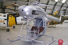 Aircraft photo of Z2-6 / 75-6 - Aerotecnica AC-12 - Spain - Air Force, taken by R.A.Scholefield at Cuatro Vientos / Museo del Aire [ Off-Airport ] in Spain on 7 November 2006 at the Museo del Aire. Spanish-designed two-seat light utility helicopter of the mid 1950s. Two prototypes and ten production examples were built.