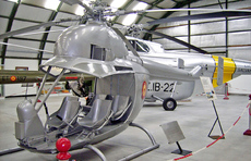 Aircraft photo of Z4-06 - Aerotecnica AC-14, taken by R.A.Scholefield at Cuatro Vientos / Museo del Aire [ Off-Airport ] in Spain on 7 November 2006 at the Museo del Aire. This machine was the sixth of ten built of this five-seat light military helicopter design which first flew in 1957.