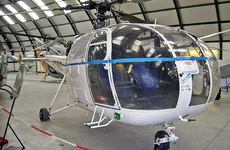 Aircraft photo of HD16-1 / 803-01 - Sud SA-316B Alouette III, taken by R.A.Scholefield at Cuatro Vientos / Museo del Aire [ Off-Airport ] in Spain on 7 November 2006 at the Museo del Aire. Preserved Spanish AF Alouette III ex EC-STE