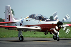 Aircraft photo of ZF202 - Short S-312 Tucano T1 - UK - Air Force, taken on 25 May 1993 by Alex Christie.