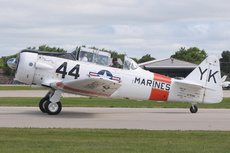 Aircraft photo of N7519U - North American T-6J Harvard Mk IV, taken on 29 July 2013 by Alex Christie.