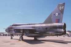 Aircraft Photo of XS458 | English Electric Lightning T5 | UK - Air Force | AirHistory.net