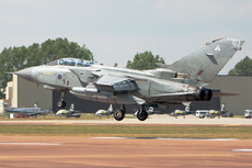 Aircraft photo of ZG713/G - Panavia Tornado GR4A - UK - Air Force, taken on 14 July 2011 by Trevor Thornton.