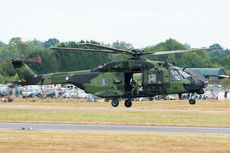 Aircraft photo of NH-214 - NHI NH-90 TTH - Finland - Army, taken on 20 July 2013 by Trevor Thornton.