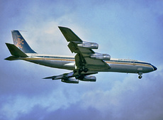 Aircraft Photo of G-AWTK | Boeing 707-349C | Caledonian Airways | AirHistory.net #100463