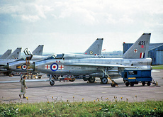 Aircraft Photo of XS421 | English Electric Lightning T5 | UK - Air Force | AirHistory.net