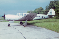 Aircraft Photo of G-ATDB | Nord 1101 Noralpha | AirHistory.net #108814