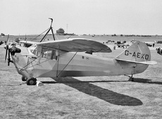 Aircraft Photo of G-AEXD | Aeronca 100 | AirHistory.net #108594