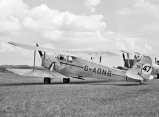 Aircraft Photo of G-ADNB | De Havilland D.H. 87B Hornet Moth | Tiger Club | AirHistory.net #112917