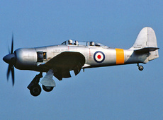 Aircraft Photo of VZ345 | Hawker Sea Fury T20S | UK - Air Force | AirHistory.net #114724