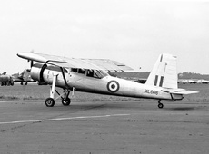 Aircraft photo of XL666 - Scottish Aviation Pioneer CC1 - UK - Air Force, taken by Jerry Hughes at Biggin Hill (EGKB / BQH) in England, United Kingdom on 19 September 1959 during the Biggin Hill Battle of Britain Day 1959. 217 Sqd - Dishforth