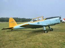 Aircraft photo of G-APPK - De Havilland DHC-1 Chipmunk Mk22, taken by Jerry Hughes at Biggin Hill (EGKB / BQH) in England, United Kingdom in 1964. Operated by the Surrey & Kent Flying Club