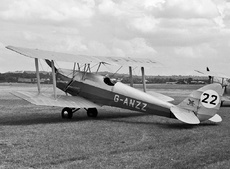 Aircraft Photo of G-ANZZ | De Havilland D.H. 82A Tiger Moth II | Tiger Club | AirHistory.net #124288