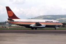 Aircraft Photo of G-BHVI | Boeing 737-2T5/Adv | Orion Airways | AirHistory.net