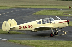Aircraft Photo of G-AKBO | Miles M-38 Messenger 2A | AirHistory.net #100415