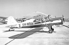 Aircraft Photo of VH-WBA | Auster J-5B Autocar | AirHistory.net #100895