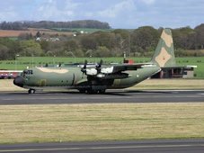 Aircraft photo of 16801 - Lockheed C-130H-30 Hercules (L-382) - Portugal - Air Force, taken by Ian Howat at Glasgow - Prestwick (EGPK / PIK) in Scotland, United Kingdom on 29 April 2005.