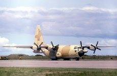 Aircraft photo of 5-8522 - Lockheed C-130H Hercules (L-382) - Iran - Air Force, taken by Ian Howat at Campbeltown (EGEC / CAL) in Scotland, United Kingdom on 21 June 1978. Taking part in Exercise NEJAT 78.