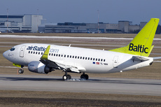Aircraft Photo of YL-BBH | Boeing 737-548 | AirBaltic | AirHistory.net